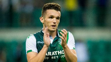John McGinn is in the final year of his contract at Hibs.