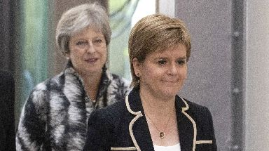 Concerns: Ms Sturgeon criticised so-called Checkers plan.