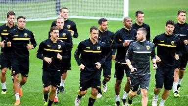 Ready: Boss says AEK can handle the atmosphere.