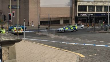 Dundee: Police were called to the incident.
