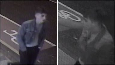 CCTV: Officers are looking to trace the man pictured.