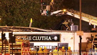 Clutha: Ten were killed in the crash