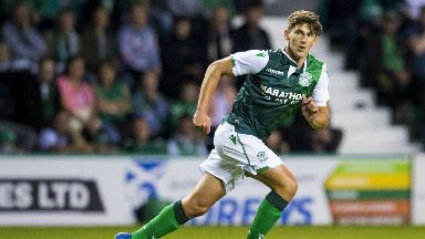 Emerson Hyndman came off the bench against Molde.
