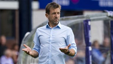 Neil McCann's side are without a win in the League.