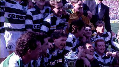 Centenary: Celtic clinched the double in their 100th year.