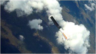 Ross-shire: Rocket known as Skylark Nano.