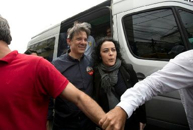 Fernando Haddad is currently vice presidential candidate for the Workers' Party