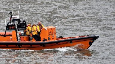 The lifeboat was met at Crosshaven by an ambulance and the man was transported to Cork University Hospital.