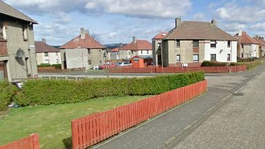 Scene: Glebe Road, Whitburn.