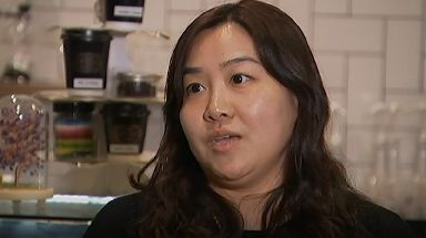 Angela Wang, owner of the ChanGe Cafe in Brisbane, has started selling 'selfieccinos' to customers.