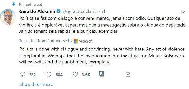 Geraldo Alckmin Twitter