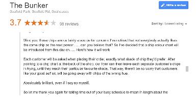 A review response