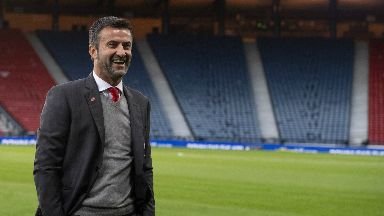 Return: Christian Panucci scored the winner for Italy at Hampden 11 years ago.