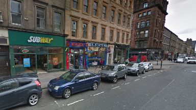 Glasgow: Both groups made off after assault.