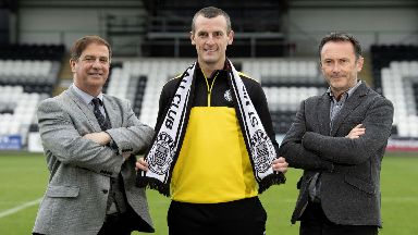 Oran Kearney was unveiled as new St Mirren manager.