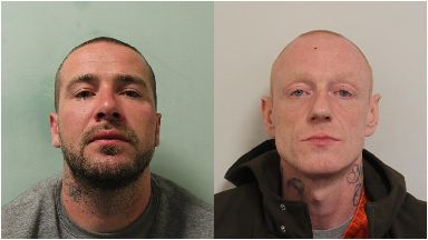 Gleneagles: Pair jailed for raid.