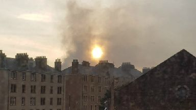 Fire: In Dundee.