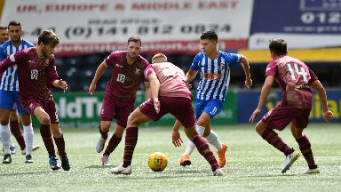 Coveted: Jones has impressed for Killie since joining from Middlesbrough.