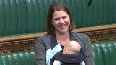Jo Swinson: Thought to be a first in a Commons debate.
