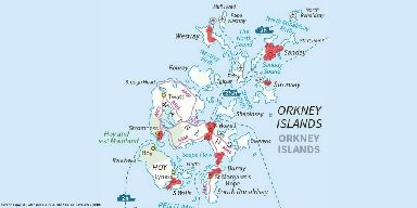 Over 90% of flood risk in Orkney originates from the sea.