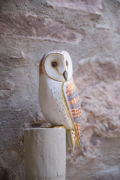 Small crafted touches are hidden in the homes - look out for the owl and the tiny wooden mice!