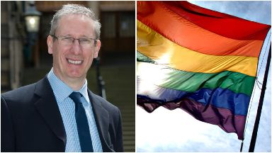 Pride: Rev Peter Nimmo will address crowds.