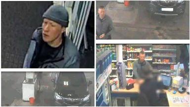 CCTV: A pensioner was robbed.