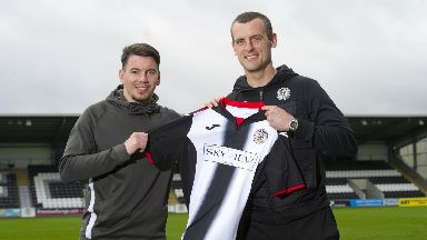 Signing: Adam Hammill is Oran Kearney's latest signing for St Mirren.