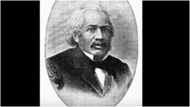 James Mcclune: First African American with medical degree.