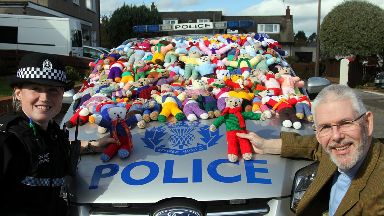 Bears: The teddies will help soothe distressed children.