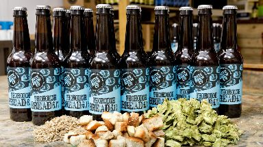 Thorough Bread beer was inspired by loaves unsold during tourist season.