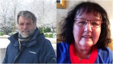 Killed: Anthony and Delia Green were on a two-week holiday.