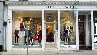 Coast fashion retailer to close three stores in Scotland