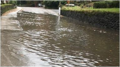 Arrochar: Cars are having issues getting through.
