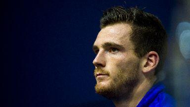 Confident: Robertson says Scotland will improve.