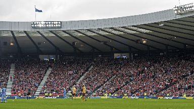 Reduced: Aberdeen's Hampden section has been reduced.