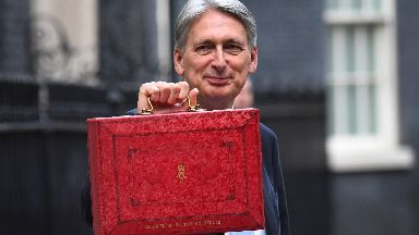 Hammond: £150m pledged for Tay Cities Deal.
