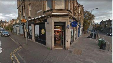 Armed raid: Margiotta food store.