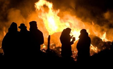 Bonfire: Dispersal zones to be set up.