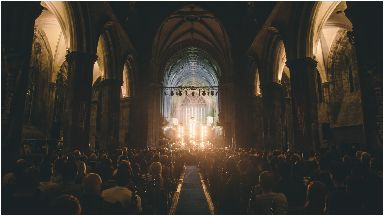 Spectacular: Frightened Rabbit at Paisley Abbey