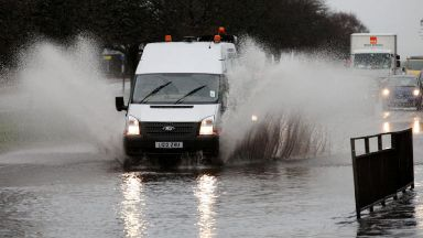 Flooding: Weather warnings in place.