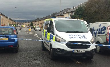 Carmuirs Avenue:The woman was found on Tuesday.