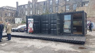 Leith Walk Studios has opened.