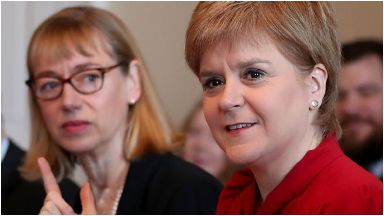 Probe: Leslie Evans was asked to conduct a review by First Minister Nicola Sturgeon.