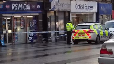 Bathgate: One of the incidents took place on George Street.