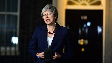 Theresa May: I will campaign heart and soul for this deal.