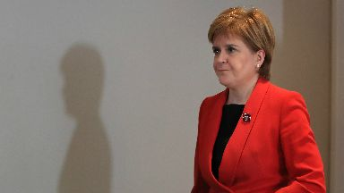 Nicola Sturgeon: 'The views, wishes and interests of Scotland (are) being completely ignored' (file pic).