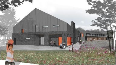 Plans: The new centre will provide care and support.