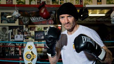 Postponed: Scott Harrison's comeback fight has been pushed back until 2019.