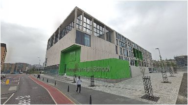 Boroughmuir High School: State secondary of the year.